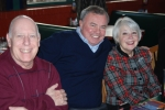 Barton Will, Paul Anderson, & Jeanne Heid Christmas Lunch 2011