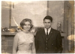 Harriet Good & Dave Manoogian Dec. '62
