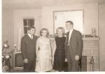 Dave Manoogian & Harriet Good & ? Dec. '62
