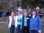 Gretchen Carter, Nancy Mayberry, Diane Kline, Connie Kilb, Doug Denholm, Jim Dittmar & Frank Maston