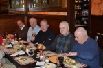 Drew Bachman, Dave Howe, Buzzie Davis, Tom Copeland & Bart Will @ Bart's Holiday Luncheon 2012