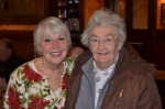 Jeanne Heid Bereznicki & Surprise Guest, Mrs. Tom Taylor (wife of chemistry teacher)@ Bart's Holiday Luncheon 2012