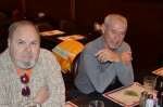 Bill Hertel & Bucky Hamilton @ Bart's Holiday Luncheon 2012