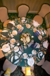 Table Setting St. Clair C.C. Reunion 50 Dinner Dance