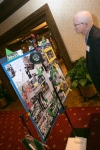 "Tom Copeland Studies ""The Memory Board"" at Reunion 50"