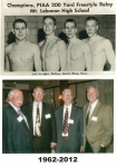 "Bill ""Corky"" McGarry, Ken Kurtz, John Blum & Stewart Early Then and Now."